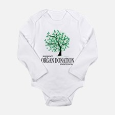 Organ Donation Tree Long Sleeve Infant Bodysuit