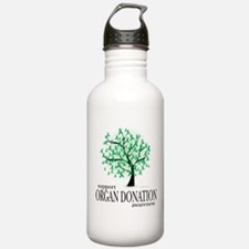 Organ Donation Tree Water Bottle