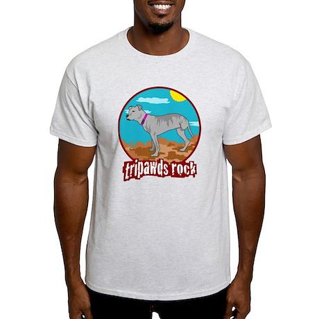 Tripawds Rock - Lottie Light T-Shirt