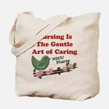 Cute Nicu nurse Tote Bag