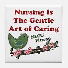 Unique Nicu nurses Tile Coaster