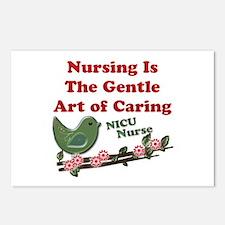 Cute Nicu nurses Postcards (Package of 8)