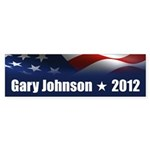 Gary Johnson Sticker (Bumper 50 pk)