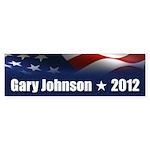 Gary Johnson Sticker (Bumper 10 pk)