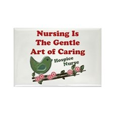 Cute Hospice nursing Rectangle Magnet