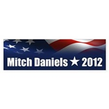 Mitch Daniels 2012 Bumper Sticker