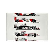 Unique F1 Rectangle Magnet