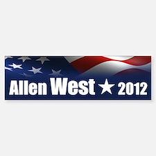 Allen West Bumper Bumper Sticker