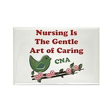 Cute Certified nursing assistant Rectangle Magnet