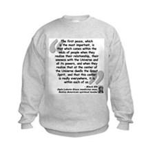 Black Elk Spirit Quote Sweatshirt