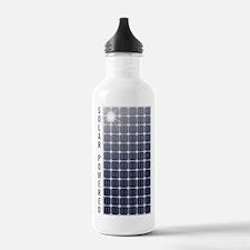 Solar Panel Water Bottle