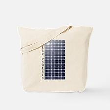 Solar Panel Tote Bag