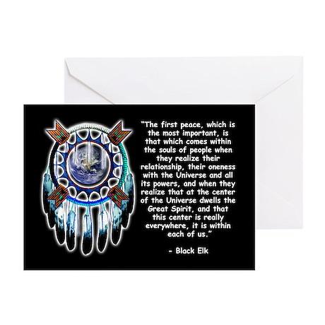 Black Elk Quote Greeting Cards (Pk of 20)