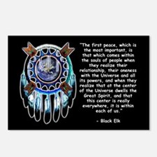 Black Elk Quote Postcards (Package of 8)