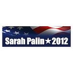 Sarah Palin 2012 Sticker (Bumper)