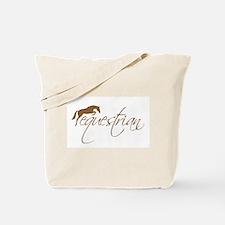 equestrian (brown variation) Tote Bag