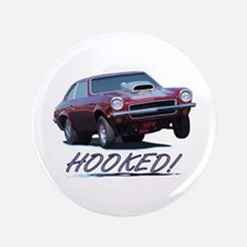 """HOOKED! 3.5"""" Button"""