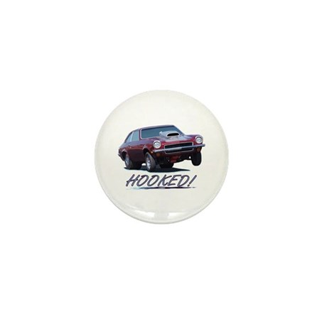 HOOKED! Mini Button (100 pack)