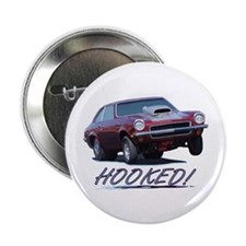 """HOOKED! 2.25"""" Button"""