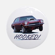 HOOKED! Ornament (Round)