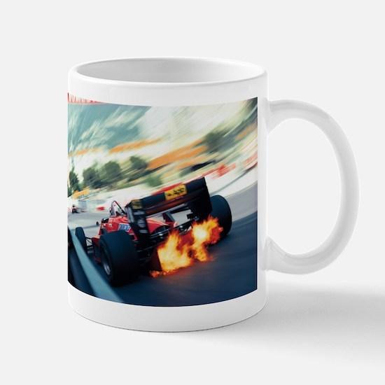 f1 fire Mugs