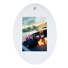 Unique F1 Ornament (Oval)