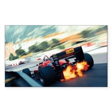 Unique Formula one racing car Decal