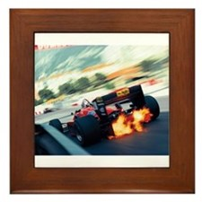 Cute Formula one Framed Tile