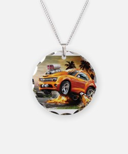 Formula one racing Necklace