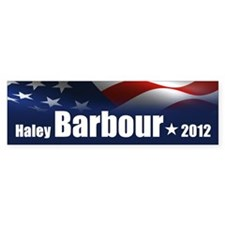 Haley Barbour 2012 Bumper Sticker