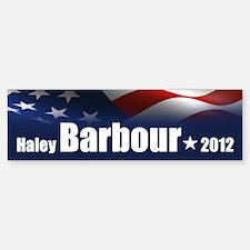Haley Barbour 2012 Sticker (Bumper)