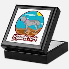 Tripawds Rock - Lottie Keepsake Box