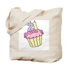 21st Birthday Cupcake Tote Bag