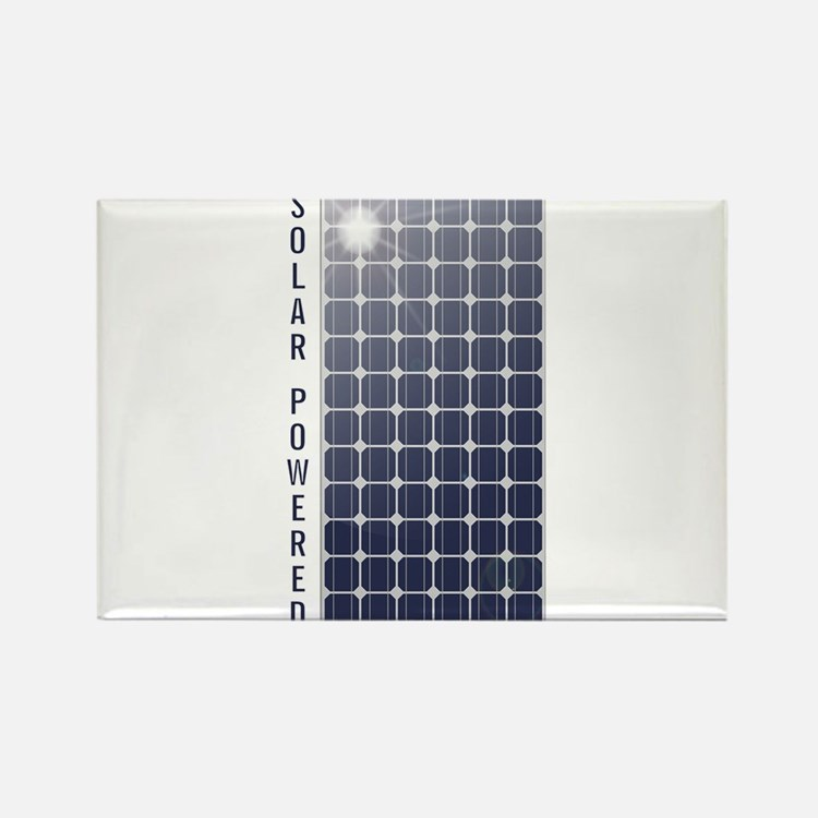 Solar Powered Rectangle Magnet