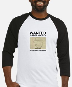 The Original Wanted Leprechaun Baseball Jersey