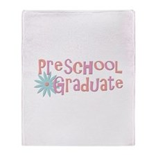 Preschool Graduation Throw Blanket