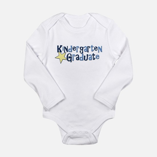Boy Kindergarten Graduate Long Sleeve Infant Bodys