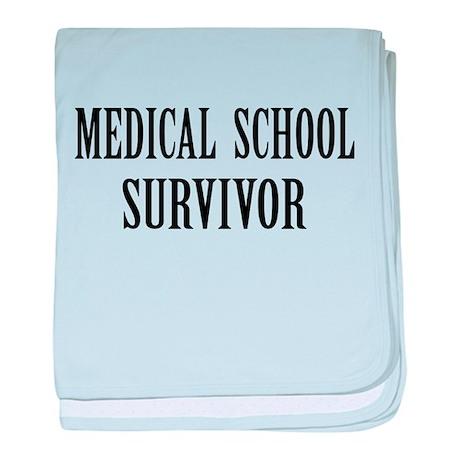 Survived Med School baby blanket