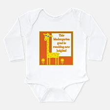 Kindergarten Grad Long Sleeve Infant Bodysuit