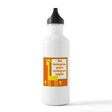 Kindergarten Grad Sports Water Bottle