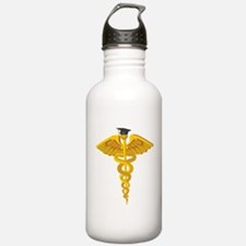 Medical School Graduation Water Bottle