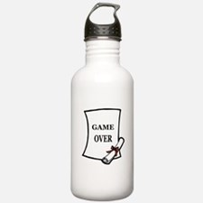 GAME OVER DIPLOMA Water Bottle