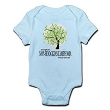 Non-Hodgkins Lymphoma Tree Infant Bodysuit