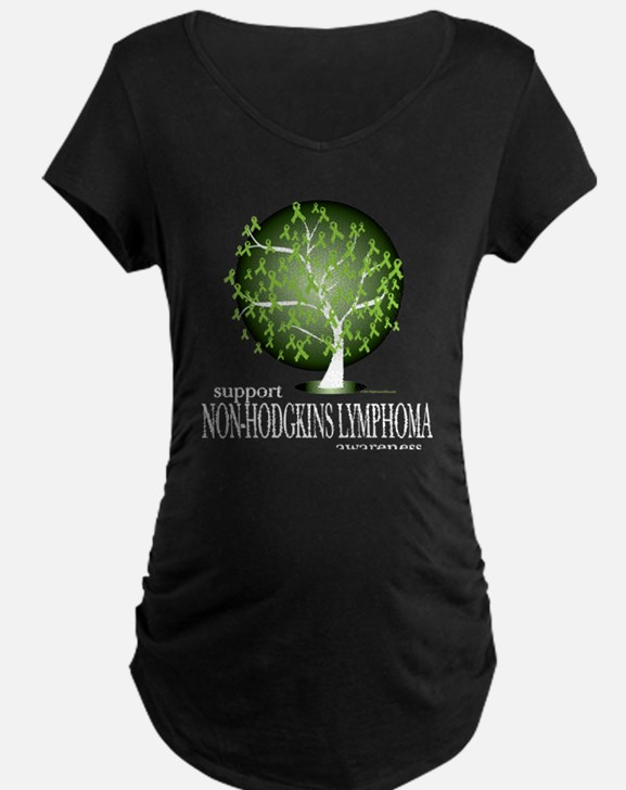 Non-Hodgkins Lymphoma Tree T-Shirt