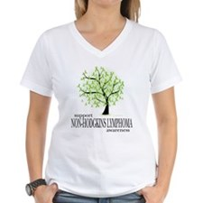 Non-Hodgkins Lymphoma Tree Shirt