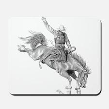 Bronco Rider Mousepad