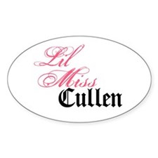 Lil Miss Edward Cullen Decal