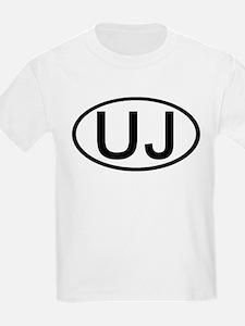 UJ - Initial Oval Kids T-Shirt