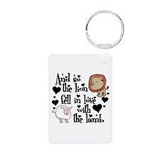 Lion fell in love with lamb # Keychains
