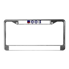 Nautical Emma License Plate Frame
